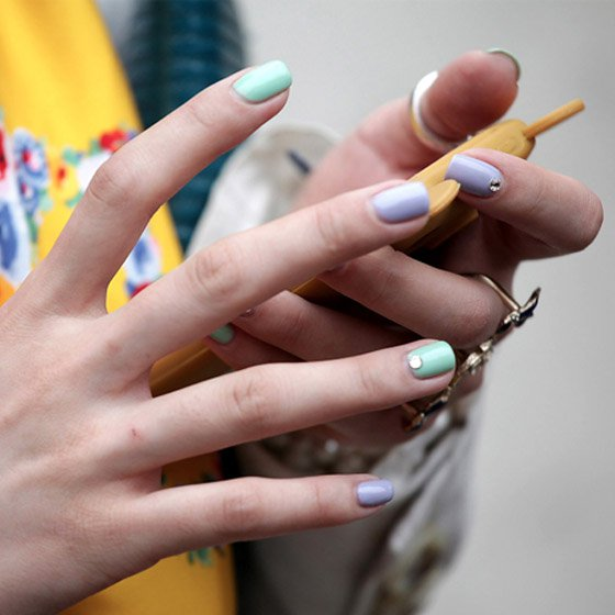 Candy Color Nails