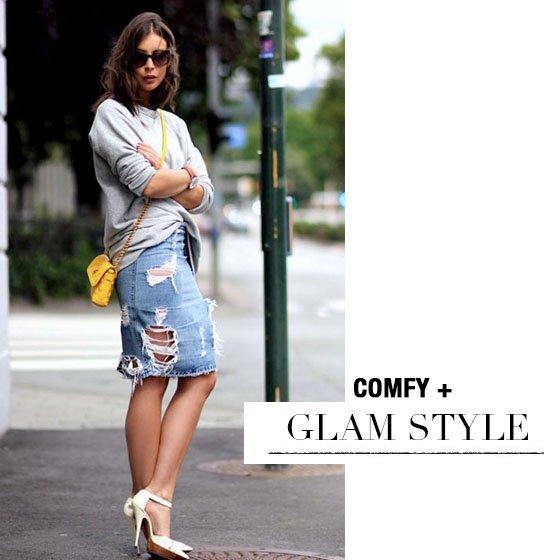 Comfy + Glam