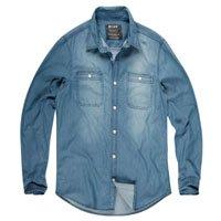 Camisa Jeans Maculina
