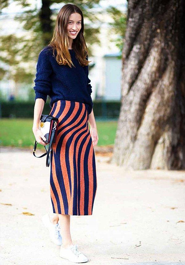 Street-Style-Tenis-Sporty-Skirt-Stripes