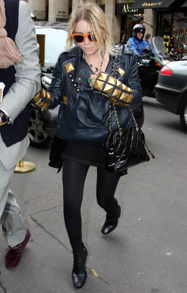 olsen-sisters-leather-jackets