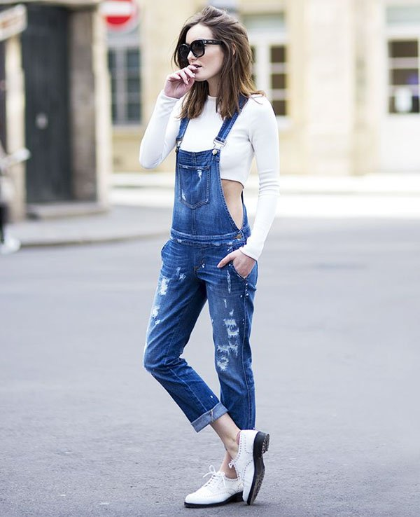 a76ce8cb8 6 Vezes Jardineira Jeans » STEAL THE LOOK