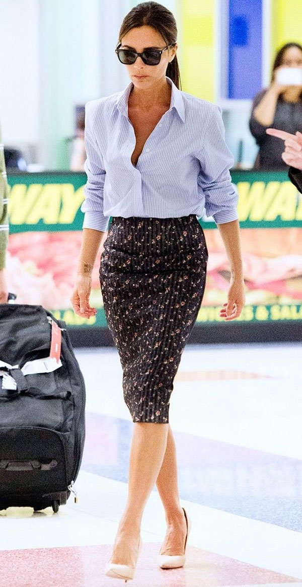 victoria-beckham-estilo-saia-lapis-dia-a-dia