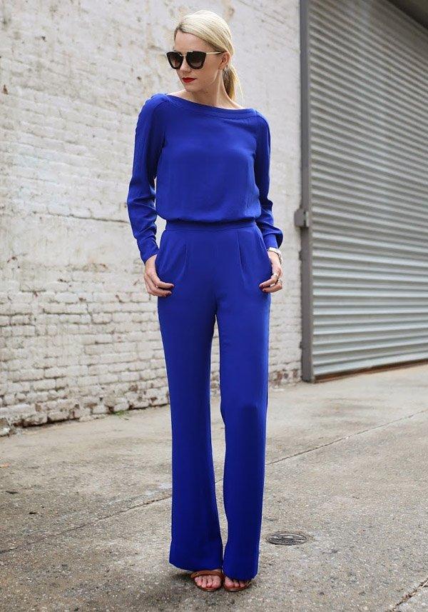 blue-jumpsuit-street-style-heels-comfy