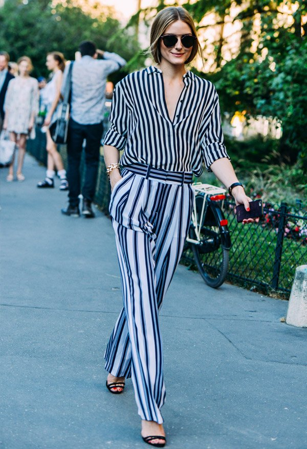 olivia-palermo-street-style-stripes-pants-shirt