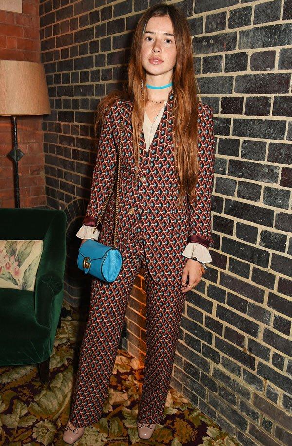 flo-morrissey-style-printed-suit-nude-heels