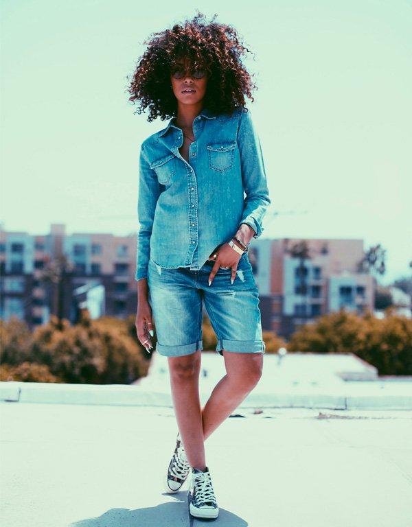 jeans + tênis