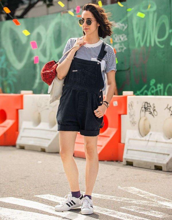 adidas-originals-street-style-jumpsuit-striped-t-shirt