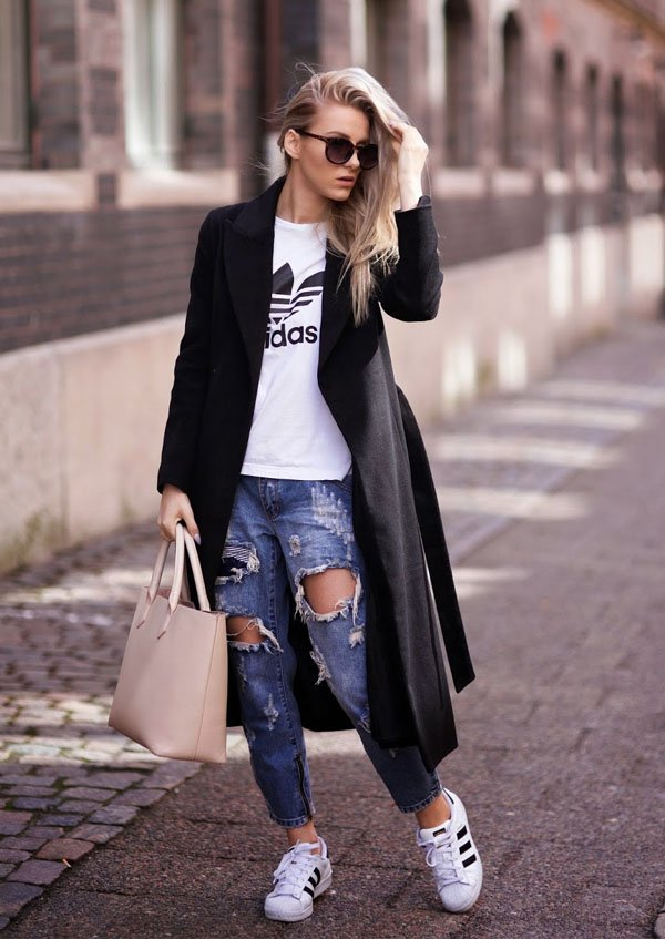 Fashion Girl Essential Adidas Sneakers Steal The Look