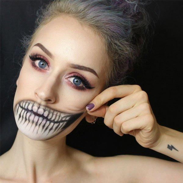 make-halloween-cabelo-colorido-estilo