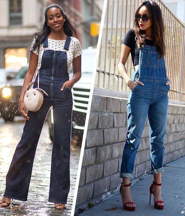 Fabuloso Batalha de Jardineiras Jeans » STEAL THE LOOK PR26