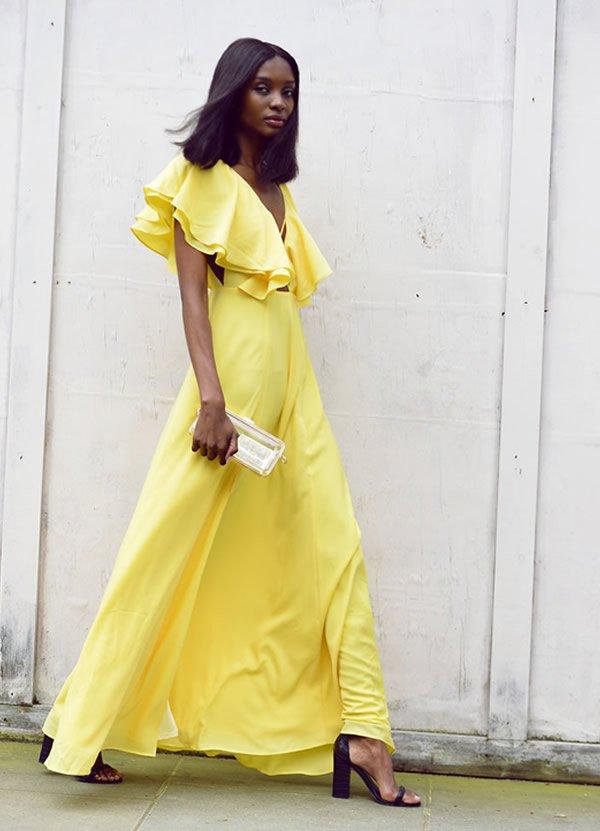 natasha ndlovu yellow dress