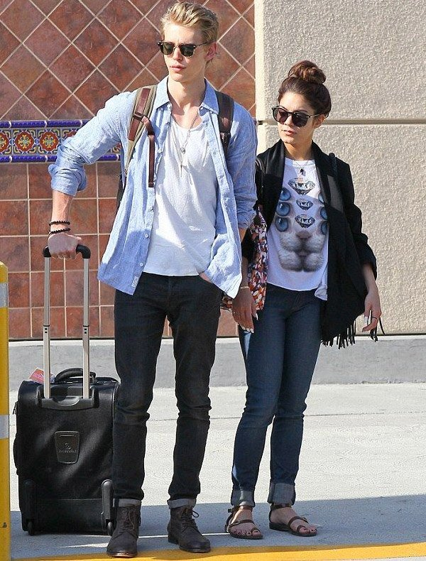Vanessa Hudgens 2013 Casual Outfits Couples We Love: Vanes...