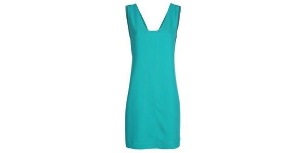 vestido shoulder verde