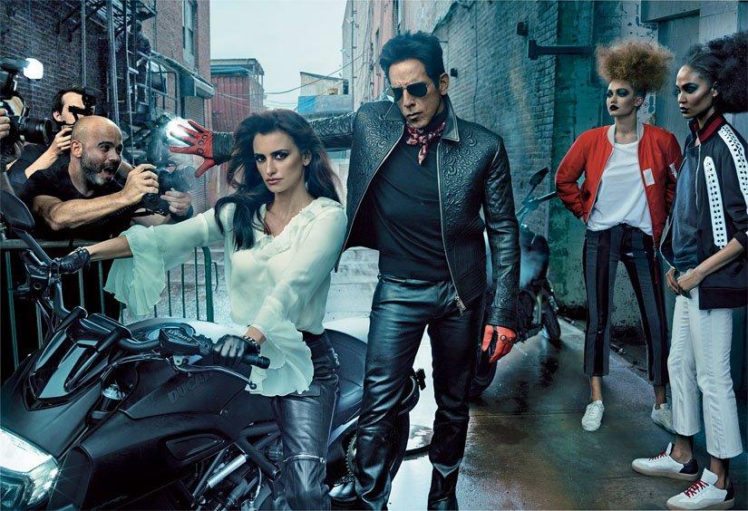 Ensaio de Ben Stiller e Penelope Cruz na Vogue
