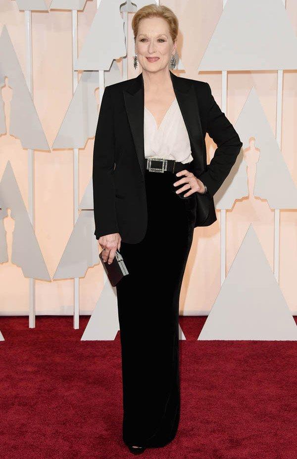 Meryl Streep Style Red Carpet Oscar
