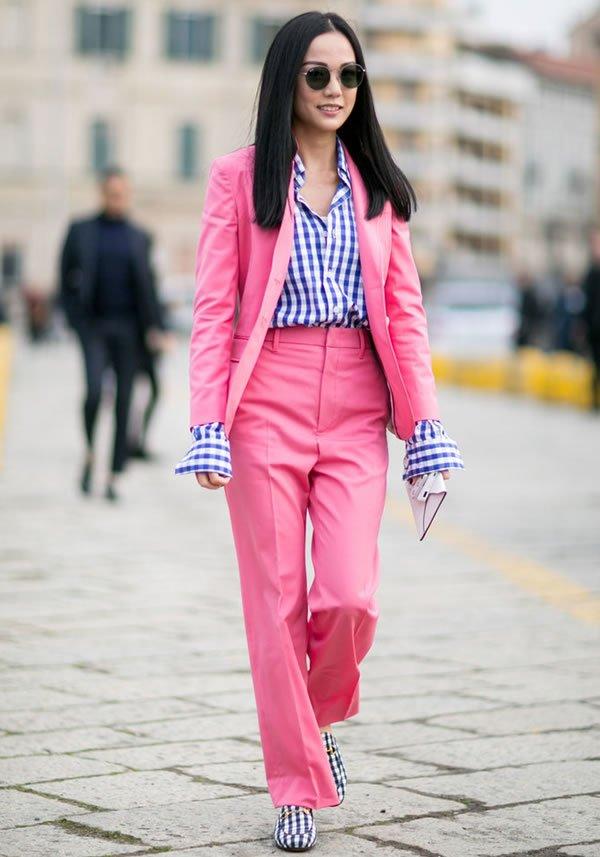 conjunto rosa street style