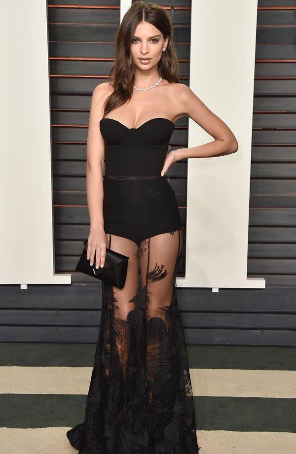 Emily Ratajkowski  Oscars After Party