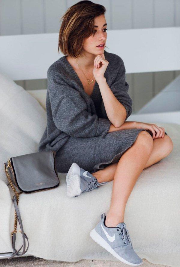Grey Comfy Look