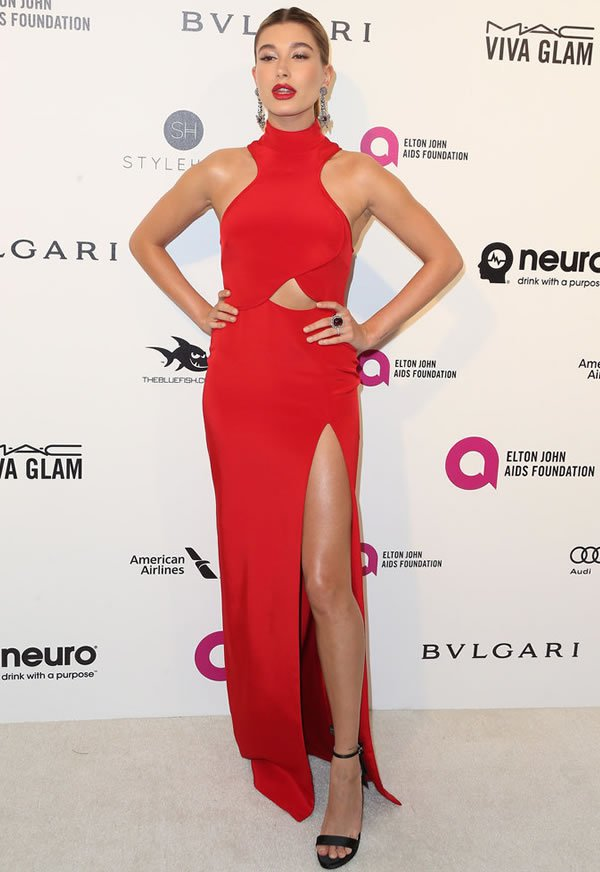 Hailey Baldwin Oscars After Party