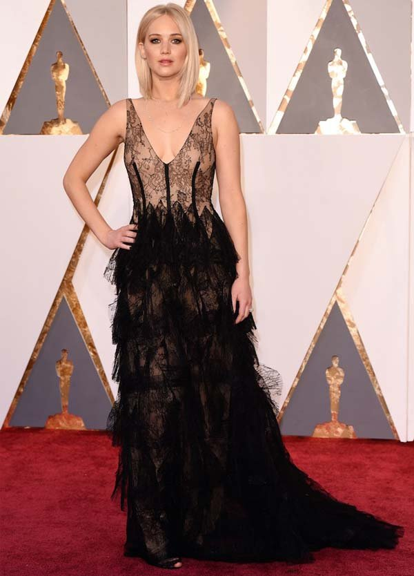 jennifer lawrence oscar dior
