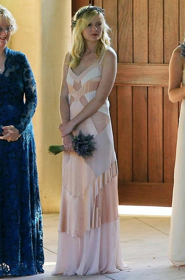 Kirsten Dunst Bridesmaid Dress