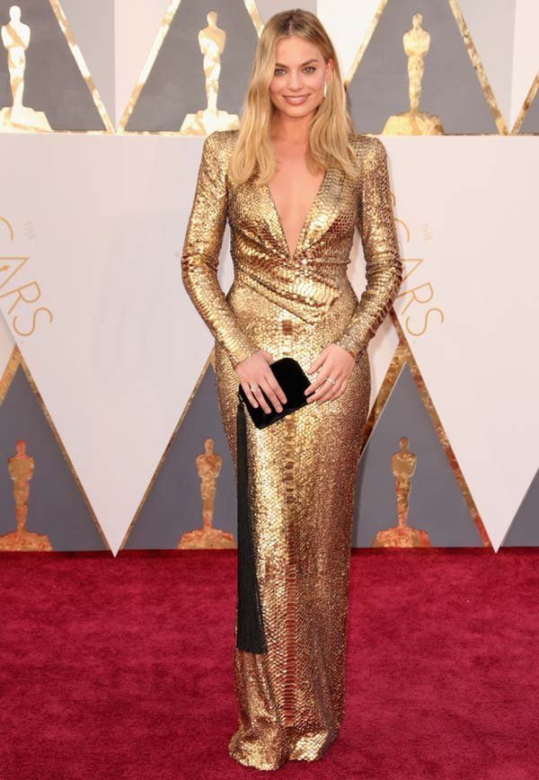 margot robbie oscars tom ford