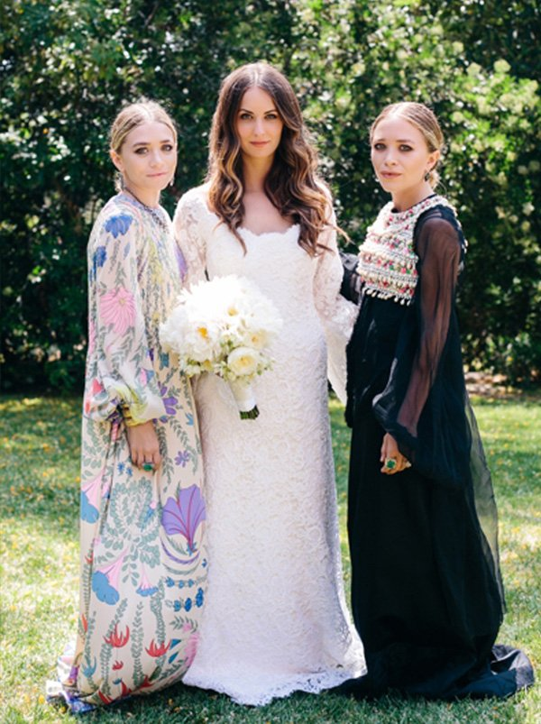 Mary Kate e Ashley Olsen Bridesmaid