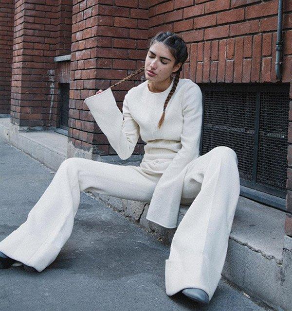 Patricia Manfield Street Style Trança Dupla Embutida