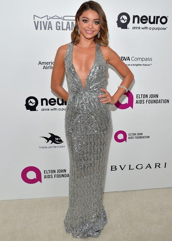 Sara Hyland Oscars After Party