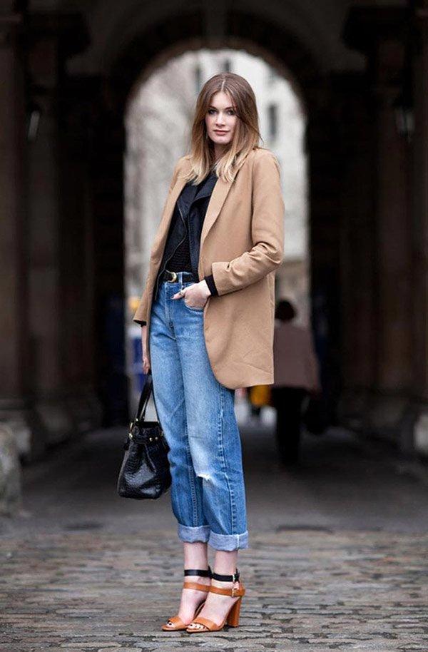 jeans com sandalia e malha