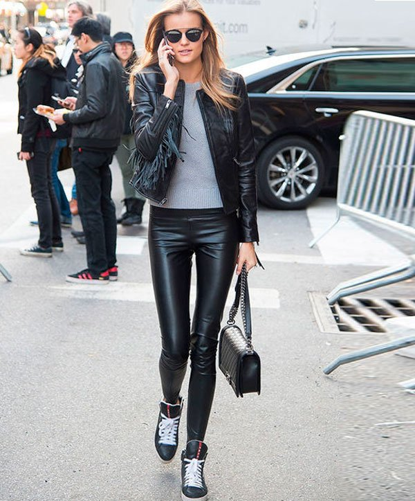 kate grigorieva look all black