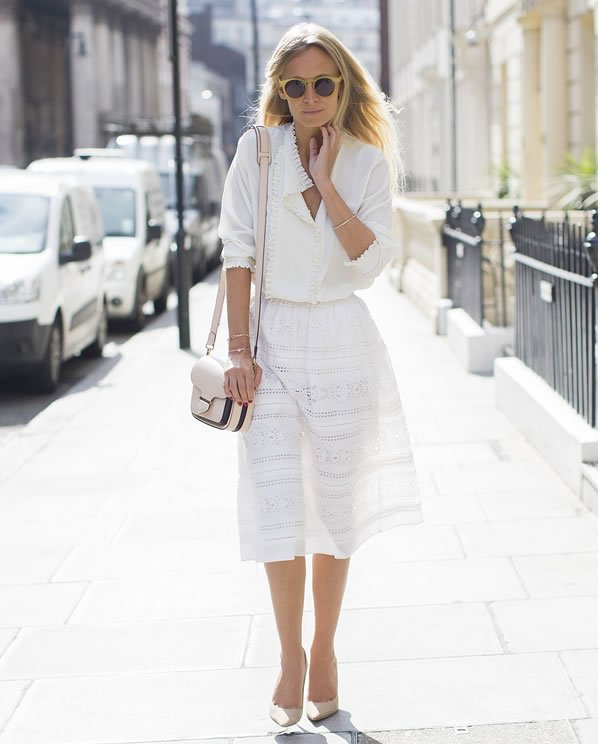 Martha Ward all white