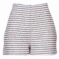 Shorts Tweed Navy Listrado