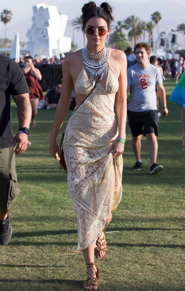 Kendall Jenner look coachella 2016