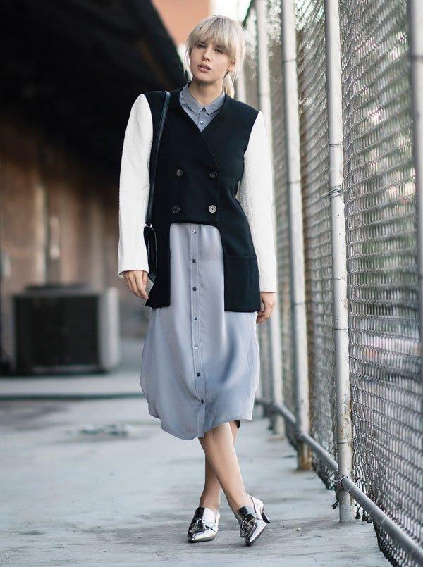 look long chemise bomber jacket