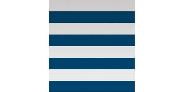 Papel de parede de listras horizontais azul marinho