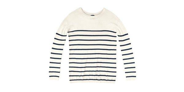 suéter listrado hering