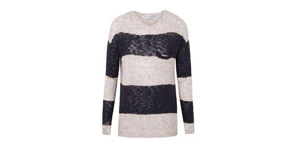 suéter tricot listras market33 oqvestir