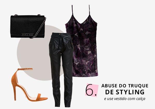 vestido com calça: como usar