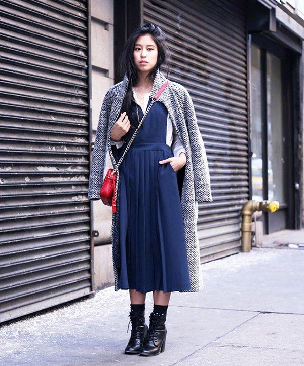 Use Vestido De Verão No Inverno