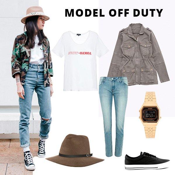 Guia De Estilo: Model Off Duty