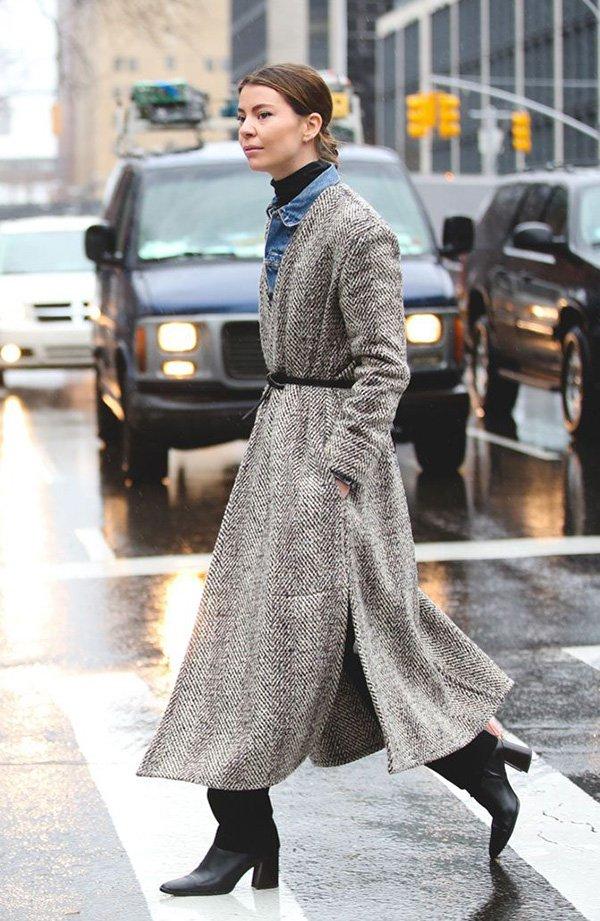 look casaco extra longo