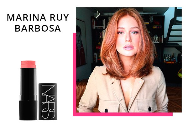 Marina Ruy Barbosa investe no the multiple stick