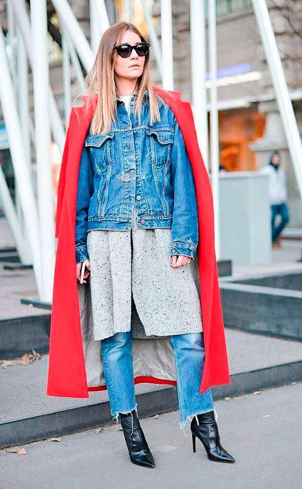 a50bd93903 9 maneiras diferentes de usar a jaqueta jeans » STEAL THE LOOK