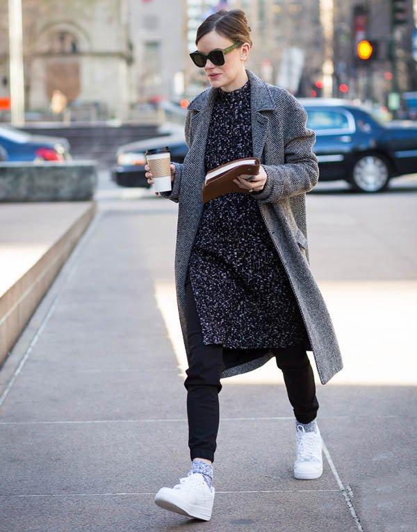 street style maxi casaco