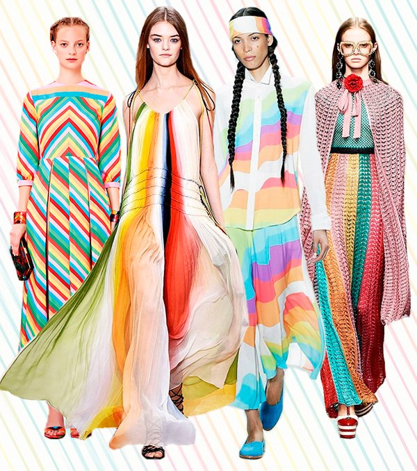 trend alert: rainbow stripes