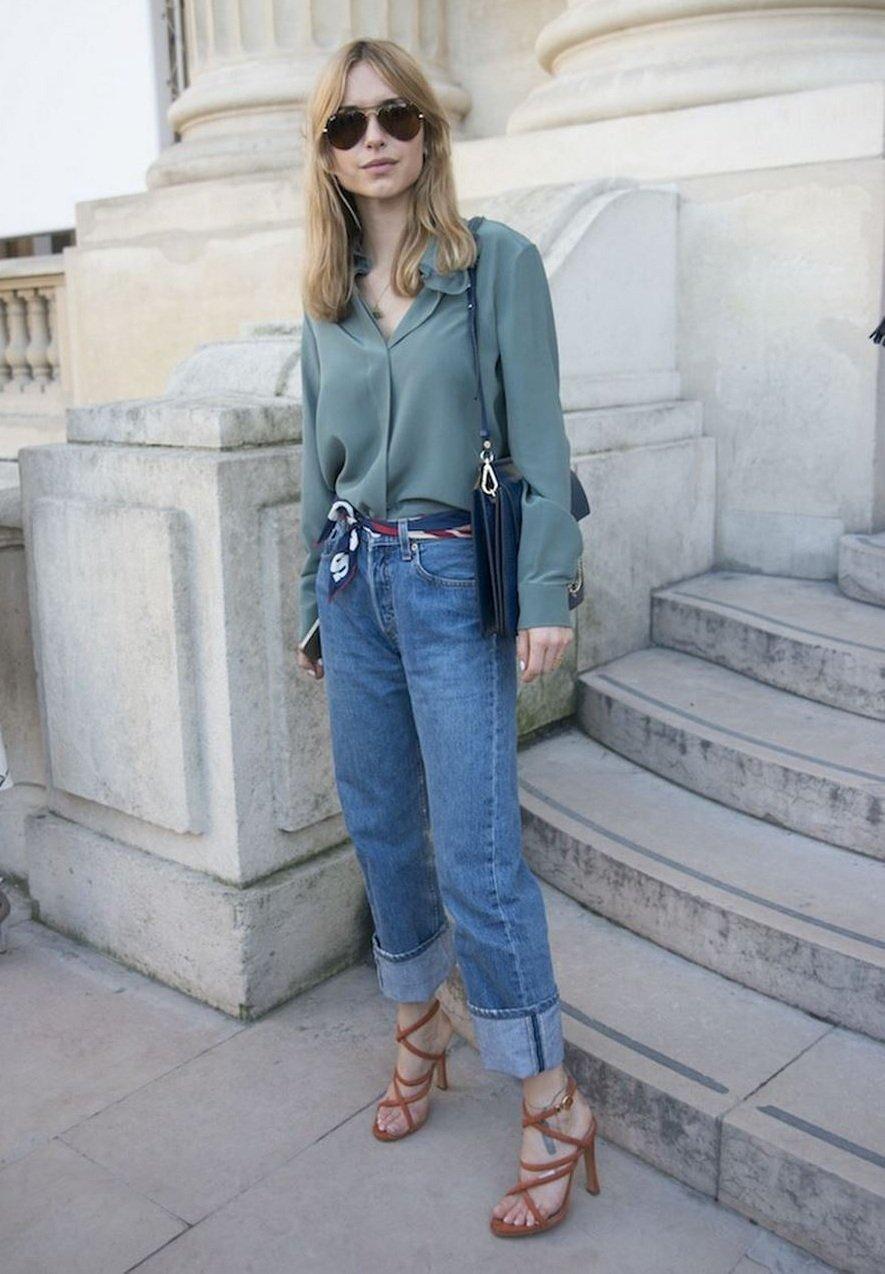 Pernille Teisbaek mom jeans