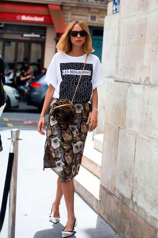 look camiseta fashionista
