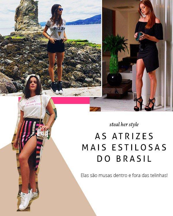 confira o estilo das atrizes brasileiras mais estilosas